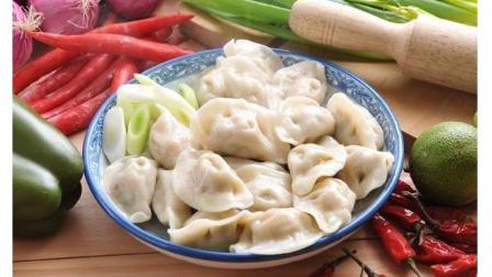 香喷喷的香菇鸡肉水饺的家常简易做法