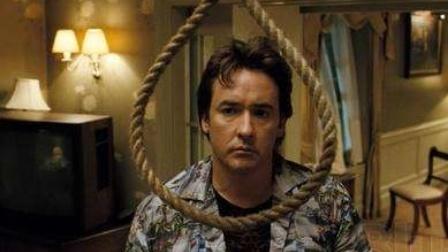 男人独自去宾馆 在意外看到妻子女儿和父亲后 选择自杀《1408幻影凶间》