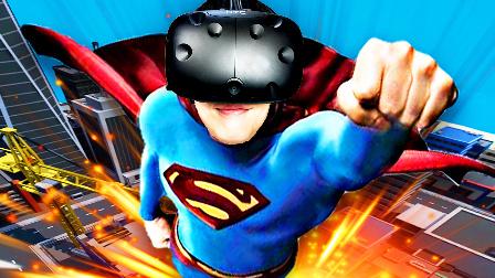 【屌德斯解说】 VR超级英雄模拟器 用各种超级英雄的能力拯救地球!