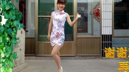 燕子广场舞5211 最新旗袍版dj《情路弯弯》