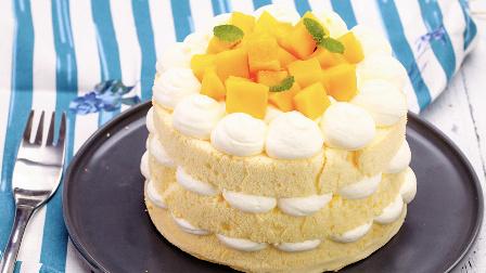 没有烤箱也能做的高逼格裸蛋糕