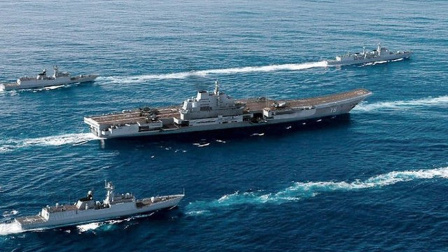 日本叫嚣能够封堵辽宁舰进出第一岛链 解放军笑称有胆你就来