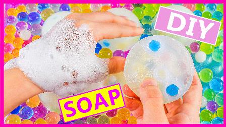 亲子手工水舞珠珠肥皂DIY 207