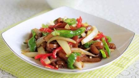 肉丝炒洋葱的做法 洋葱炒青椒肉丝的做法视频