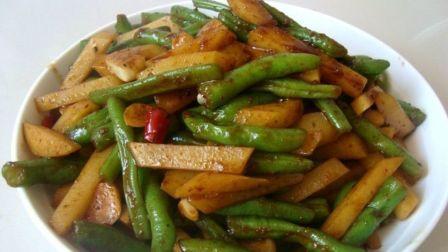 红烧豆角土豆怎么做好吃 特色炒菜家常菜的做法视频