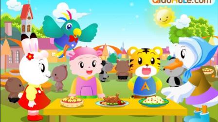 巧虎美食大赛  儿童小游戏