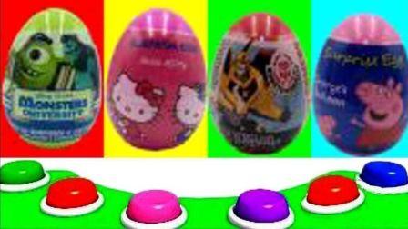 小猪佩奇奇趣蛋玩具 海绵宝宝粉红猪小妹儿童故事
