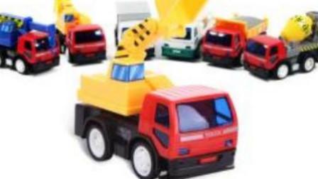大卡车 吊车 工程车工作表演视频 登山爬坡赛 汽车总动员国语版.mp4