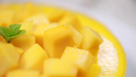 可可私厨 第一季 没有烤箱 也能在家轻松制作 美味细腻的芒果慕斯蛋糕 91