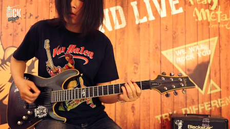 电吉他手必学的经典吉他RIFF之《Back In Black》