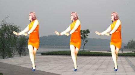 2017广场舞 紫丁香的忧伤-舞蹈旗袍--dj舞曲-灵芝音广场舞