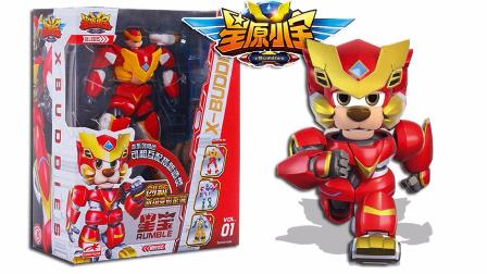 星原小宝 星宝 宇宙能源队长 变形玩具机器人 拼装组合机甲战士 鳕鱼乐园