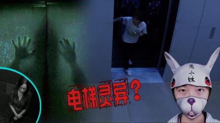 电梯恐怖事件,兔小妹一探究竟