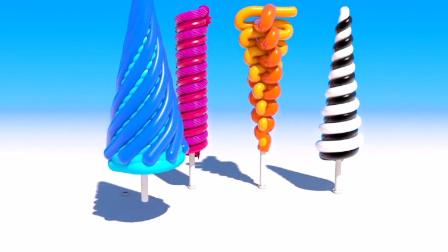 蛋糕 汉堡玩具视频 冰淇淋 制作冰淇淋的玩具模具13
