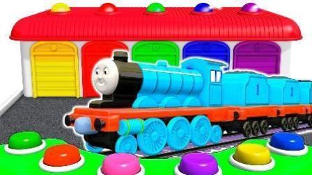 托马斯和他的朋友们小火车公交车救护车玩具 儿童故事
