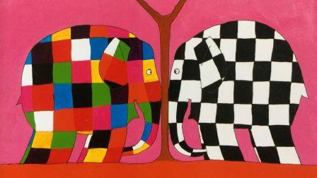 艾玛和韦伯 有声绘本睡前亲子故事 花格子大象