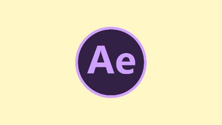 AE 图片翻转效果演示
