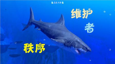 天铭 模拟鱼 海底大猎杀 Feed and Grow Fish 19 大白鲨!