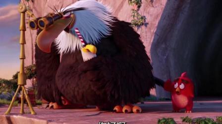 愤怒的小鸟: 胖红找了个假神鹰, 有难不帮只想着偷看老鸟泡澡