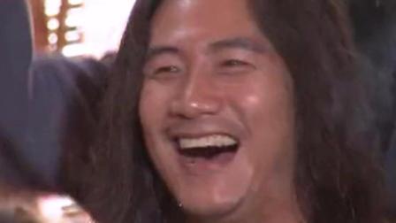 乔峰真是霸气, 喝酒都让人叹为观止, 真厉害