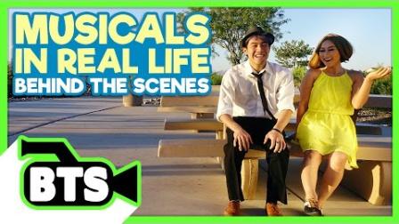 Ryan Higa 原创 - BTS 如果现实生活是个音乐剧 幕后片段
