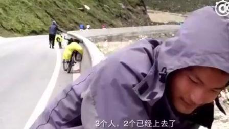 小伙子说出了骑行川藏线的真相, 90%的人都后悔了……哈哈哈自己装的B, 含着泪也要走完!