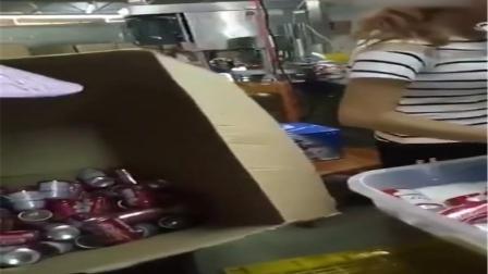 百威假酒制造厂造假过程流出 百威回应已报警