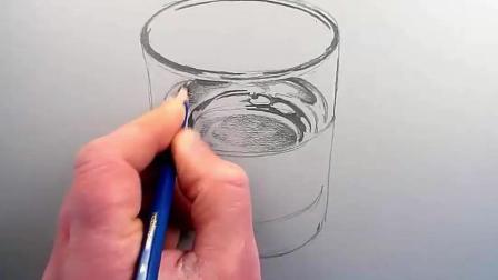 手绘3D水杯
