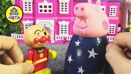 姐姐讲故事 2017 面包超人帮猪爷爷整理彩色小棍子 211 面包超人整理彩色小棍子