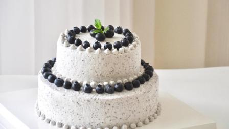 Freesiaa Made 2017 双层蓝莓蛋糕 15