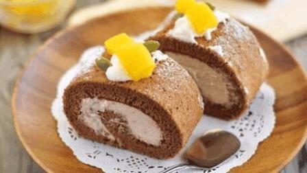 手把手教你做美味的巧克力蛋糕卷