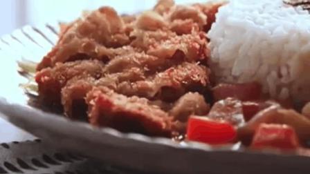 咖喱饭的做法视频  手把手教你做炸猪排咖喱饭