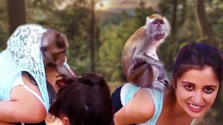 臭猴子 有本事别躲女人身上 22