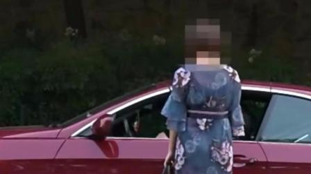 大学门口测试, 在车顶上放饮料, 真的有美女拿饮料上你的车, 跟你走
