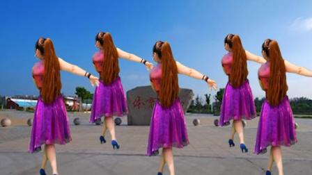 广场舞-想你想不够-网络情歌-灵知音广场舞-