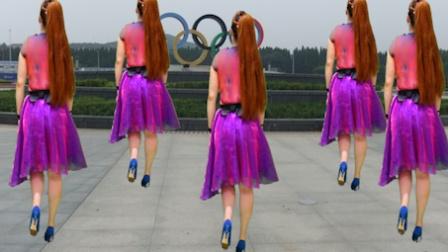 广场舞 草原歌曲-西藏女孩-灵知音时尚广场舞