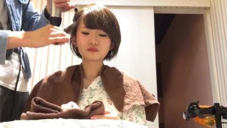 短发女生怕脸大, 发型师巧手造型解困扰