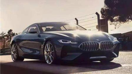 BMW颠覆性设计语言双门轿跑新8系, 对标奔驰S级Coupe