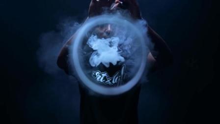 黑人烟圈秀、蒸汽道后贴推广视频