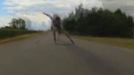 速度轮滑经典教程(直道篇)