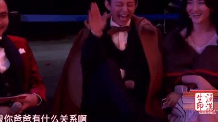 卢鑫玉浩爆笑相声《我爱看综艺》笑侃大本营, 台下何炅笑得拍大腿!