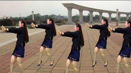 广场舞,美丽中国走起来dj舞曲-灵知音时尚广场舞