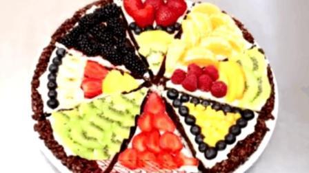 如何制作巧克力水果比萨, 满满的格调