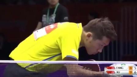 两个中国乒乓球选手打球, 逼的外国解说飙出中文, 这是地狱级难度