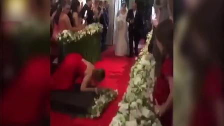 实拍!国外婚礼现场囧事 求新娘心理阴影面积