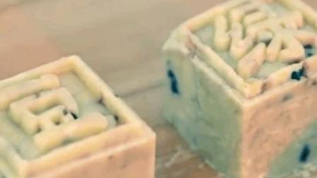 夏天少让宝宝吃冰淇淋, 用绿豆做的这款小甜点既健康又消暑 【蔓越莓绿豆糕】