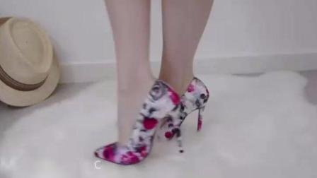 高跟鞋细跟18cm恨天高, 穿搭时尚美出杨幂范儿!