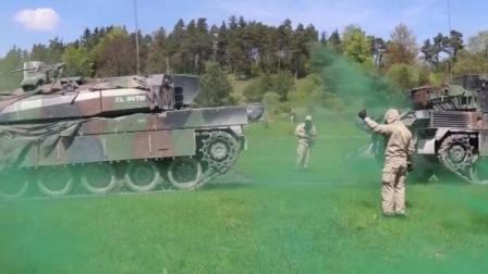北约装甲部队演习, 不过总感觉坦克不够威猛!