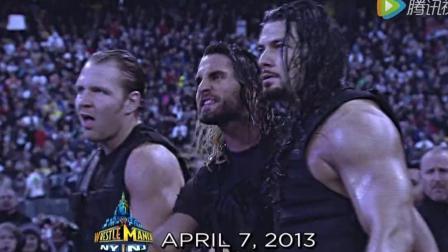 wwe2013 WWE美式摔跤娱乐 2013年摔跤狂热大赛 捍卫者组合闪耀全场
