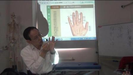 中医针灸培训视频邱雅昌董氏奇穴掌诊的穴位及对应征